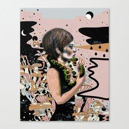 Potentially Harmful Canvas Print