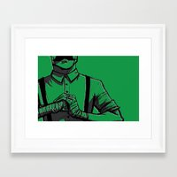 smash bros Framed Art Prints featuring Smash. by Whittico