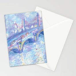 Recomposed: Waterloo Bridge, Sunlight Effect Stationery Cards