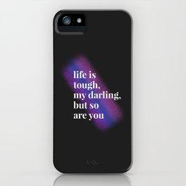 Tough Darling iPhone Case