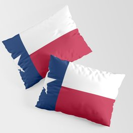 Texas Flag Lone Star Flag Pillow Sham