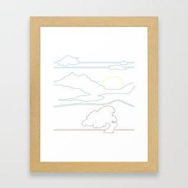 Landsacpe Framed Art Print