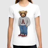 teddy bear T-shirts featuring teddy bear by ulas okuyucu