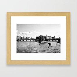 Co-Incidence Framed Art Print