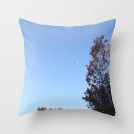 Just Another Manic Moonday Throw Pillow