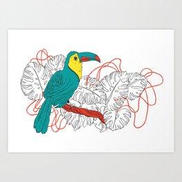 Guyane Art Print