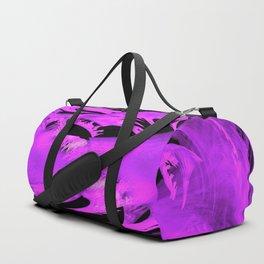 Purple sphere Duffle Bag