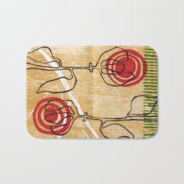nimbus flowers 1 Bath Mat