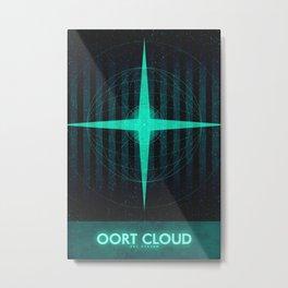 Sol System - Oort Cloud  Metal Print