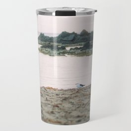 Coles Bay Sunset Seagull Travel Mug