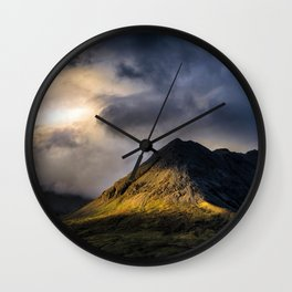 In High Places Wall Clock