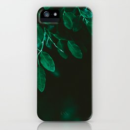 Huckleberry Leaves iPhone Case