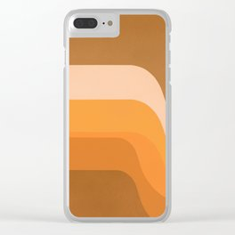 Endless Sunset Clear iPhone Case