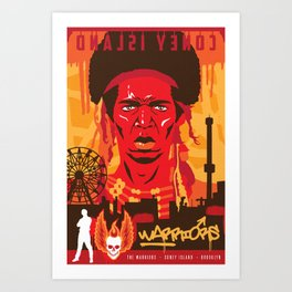 THE WARRIORS :: THE WARRIORS Art Print