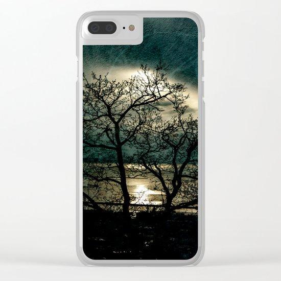 Landscape in a dream Clear iPhone Case