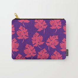 Monstera Leaf Pattern - Version Two Carry-All Pouch