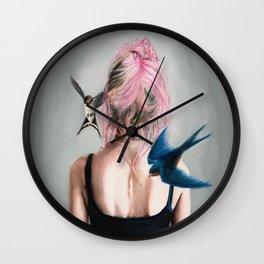 Swallows Wall Clock