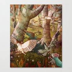 Of Mice and Owls Canvas Print