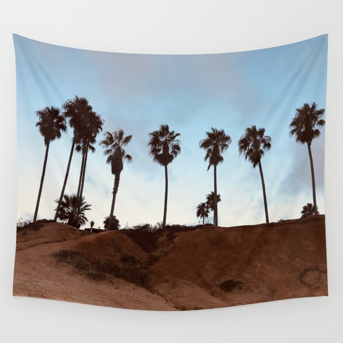 san-diego-palms-trees-wall-tapestry by society6