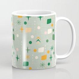 Atomic Pattern Green  #midcenturymodern Coffee Mug