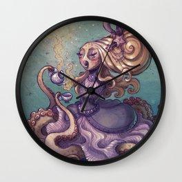 Lady Octotea Wall Clock