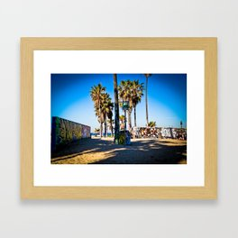 Venice Beach #3 Framed Art Print
