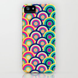 Circle colors iPhone Case