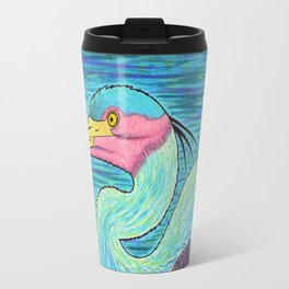 Great Blue Heron Travel Mug