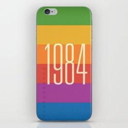 1984 (h) iPhone Skin