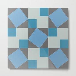 Pythagorean Pattern Metal Print