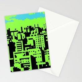 cityscape 07A (C64 remix) (2011) Stationery Cards