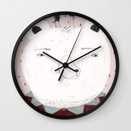 Smart bear Wall Clock