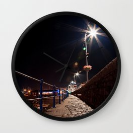 Guernsey Night Path Wall Clock