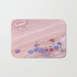 Flower Bath 9 Bath Mat