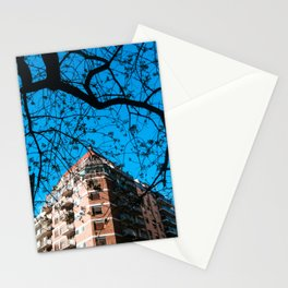 Contruction and Tree Stationery Cards