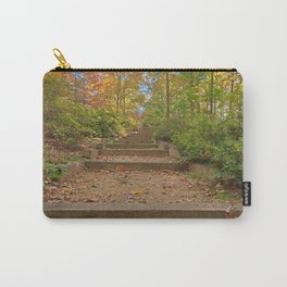 Autumn Arboretum Stairway Carry-All Pouch