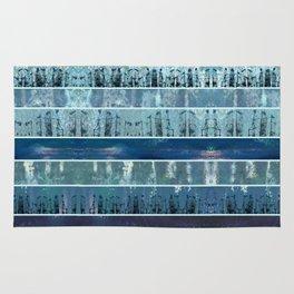 Abstract Sea City Rug