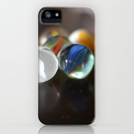 Games We Play - Marbles iPhone Case