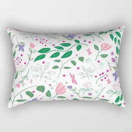 Summer Song Rectangular Pillow