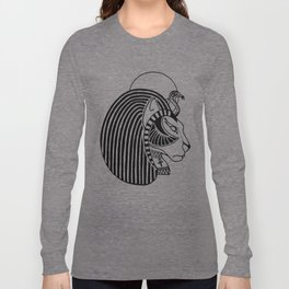 Tefnut Egyptian Goddess Long Sleeve T-shirt