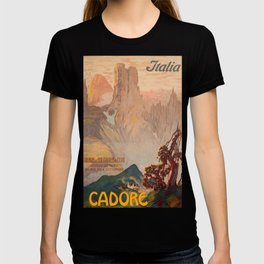 Cadore Vintage Travel Poster T-shirt