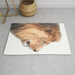 Lion Profile Rug