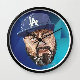 Low Poly DTM Wall Clock