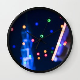 Lights in the sky Wall Clock