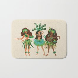 Luau Girls Bath Mat