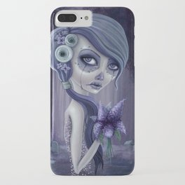 Lilacs in the forest iPhone Case