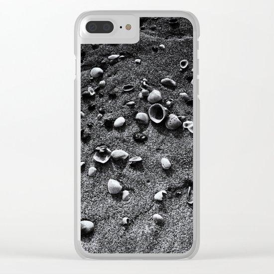 Sea Shells Clear iPhone Case