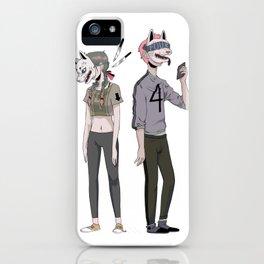 f o u r iPhone Case