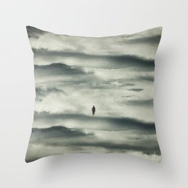 The Last Man Throw Pillow