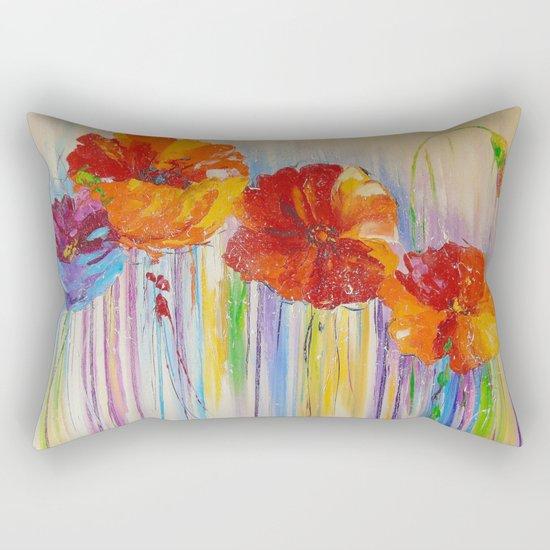 Flower abstraction Rectangular Pillow